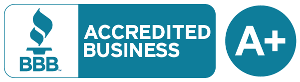 BBB Accredited - Rated A+